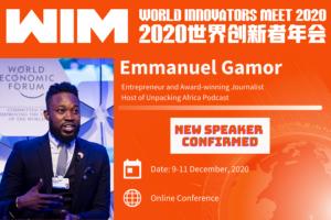 World Innovators Meet 2020 - Emmanuel Agbeko Gamor